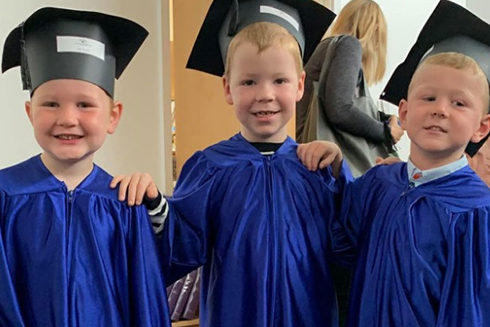 graduation day at lauriston nursery